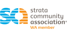 Strata community association logo