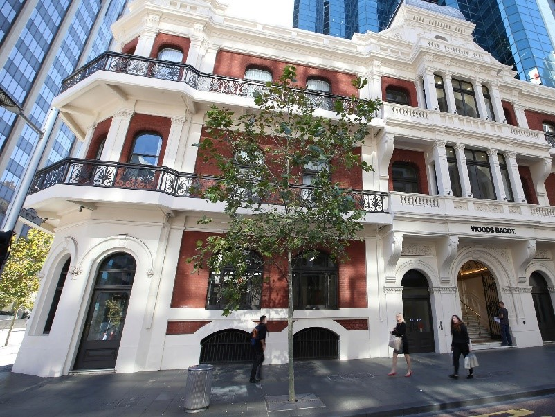 1. the heritage listed Palace Hotel